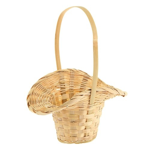 Корзины плетеные из бамбука