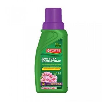 Жидкое комплексное удобрение серии Здоровье для всех комнатных растений Bona Forte, 285мл (1 шт.)