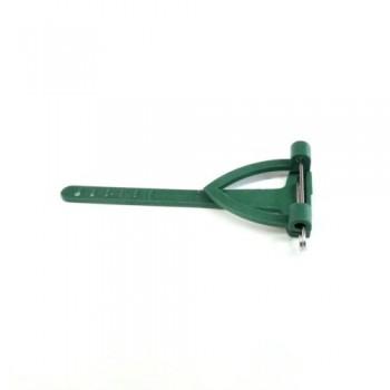 Булавка для бутоньерки, 7x3см (1 шт.) - зеленая