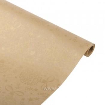Бумага упаковочная НГ Золото крафт бурый 0,6х2,5м, 40г/м2 (1 шт.)