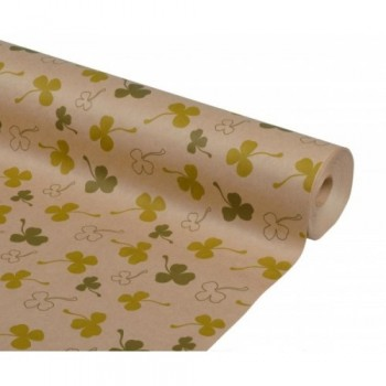 Бумага упаковочная Клевер крафт бурый 0,7х2,5м, 75г/м2 (1 шт.)