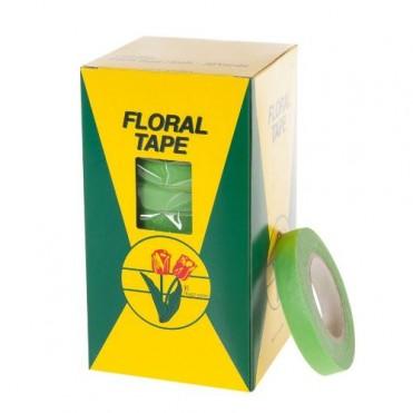 Лента флористическая Floral Tape, 1,27смх27м (1 шт.) - светло-зеленая