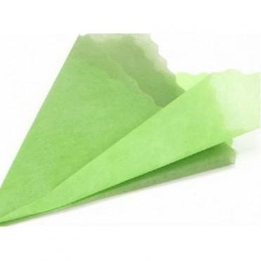 Фетр с цветным переходом, 50смх5м (1 шт.) - зеленый-салатовый