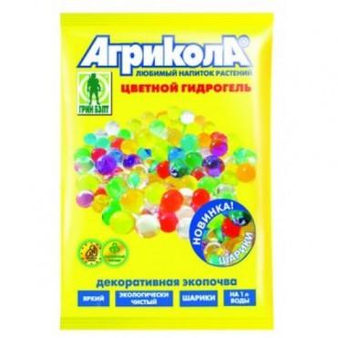 Агрикола гидрогель шарики пак. 20 г (1 шт.) - фиолетовые