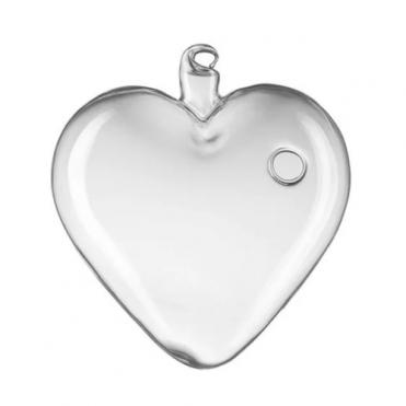 Ваза подвесная Сердце, D7,5хH8см (1 шт.)