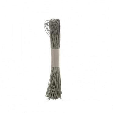 Шнур декоративный, 47м (1 шт.) - бирюзовый