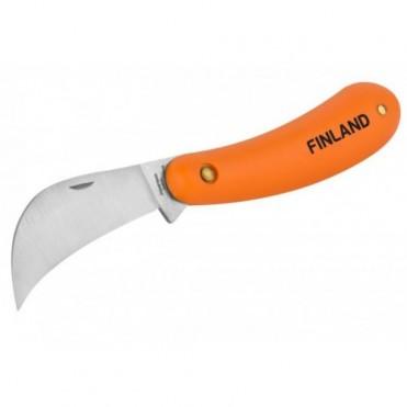 Нож садовый, складной с изогнутым лезвием,18см (1 шт.)