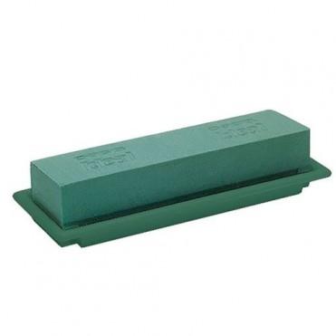 Флористическая губка Oasis настольный Medi, 25x9x5см (1 шт.) - зеленый