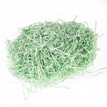 Бумажный наполнитель для подарочных коробок, 50 гр (1 шт.) - зеленый