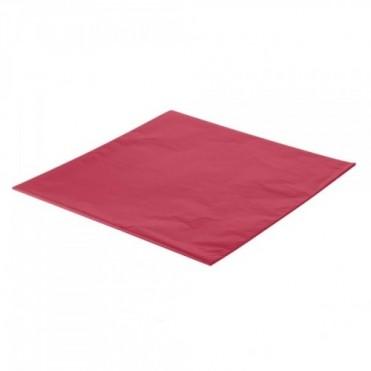 Упаковочная бумага Тишью 50смx75см (10 шт.) - красная