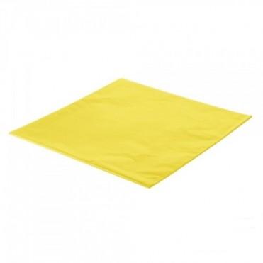 Упаковочная бумага Тишью 50смx75см (10 шт.) - желтая