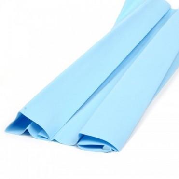 Фоамиран иранский в листах 1 мм, 60х70 см (1 шт.) - голубой