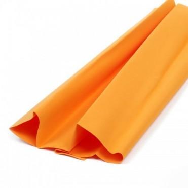 Фоамиран иранский в листах 1 мм, 60х70 см (1 шт.) - оранжевый