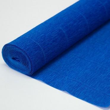 Бумага гофрированная, 50смx2,5м (180 г) - синяя