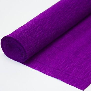 Бумага гофрированная, 50смx2,5м (180 г) - фиолетовая