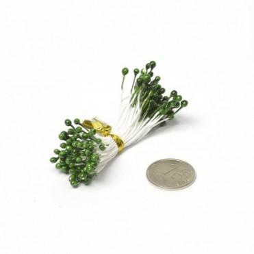 Тычинки, 84 шт. (1 уп.) - зеленые