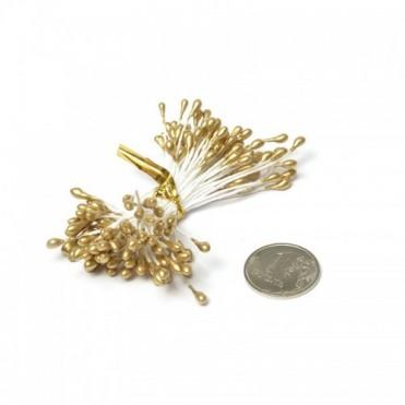 Тычинки, 84 шт. (1 уп.) - золотые