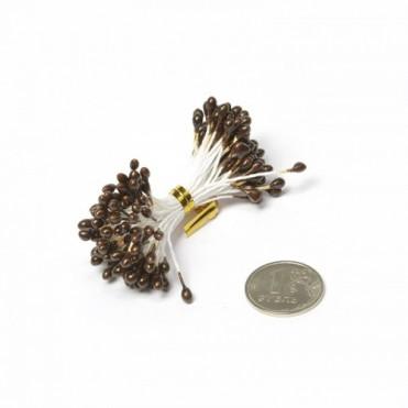 Тычинки, 84 шт. (1 уп.) - коричневые