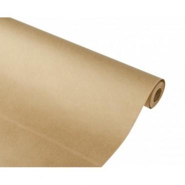 Бумага упаковочная натуральный крафт 0,7х2,5м, 50-70г/м2 (1 шт.)