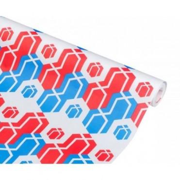 Бумага упаковочная НГ Подарки крафт белый 0,7x2,5м, 70г/м2 (1 шт.)