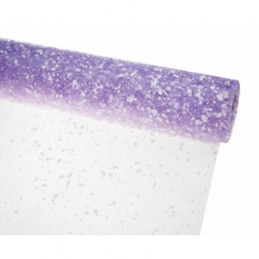 Сетка-снег, 50смх5ярд (пластик) - сиреневая