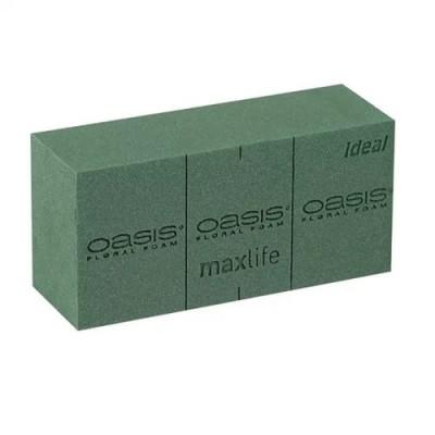 Флористическая губка Oasis Идеал Кирпич, 23x11x8см (1 шт.)